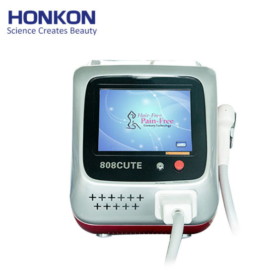 Honkon Most Popular Model 808nm Hair Removal Laser Hair Removal Medical Beauty Machine