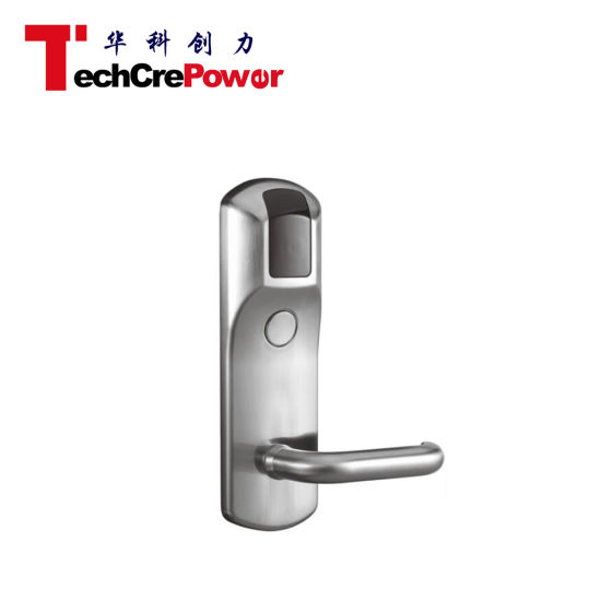 High Qality Hotel Key Card Lock TCP IP Network Hotel Door Lock pictures & photos