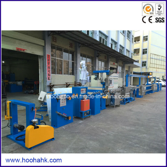 China Electric Wire Cable Sheathing Extrusion Machine - China ...