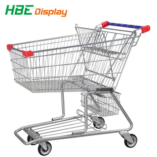 Shopping Trolley Single Flake Travelator Castor Wheels pictures & photos