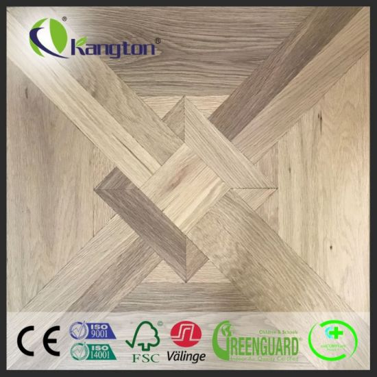 China Top Quality Eu Oak Parquet Pattern Soundproof Engineered Wood