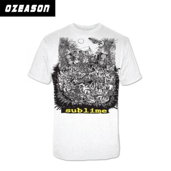fd79aa51 OEM Custom Wholesale Polyester Sublimation Printing Black Men′s T-Shirt.  Get Latest Price
