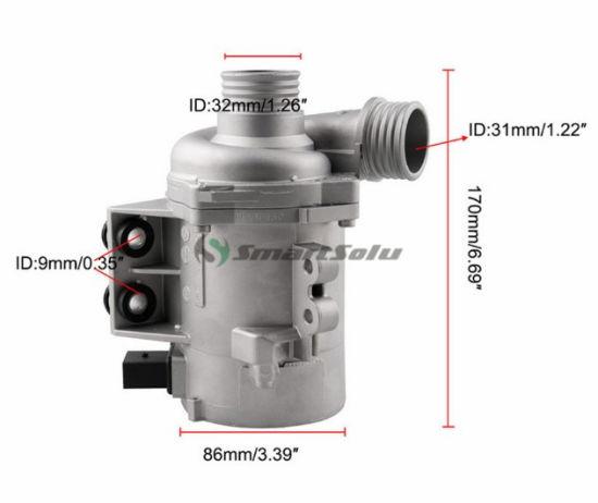Water Pump W//Thermostat /&Bolt 11517563183 For BMW 128i 325i 328i 528i 530i X3