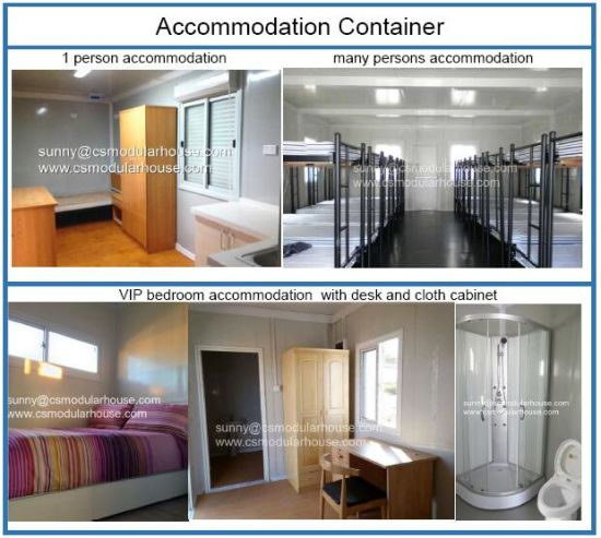 China Designed Flat Pack Houses Cabin 20FT container House Flat ...