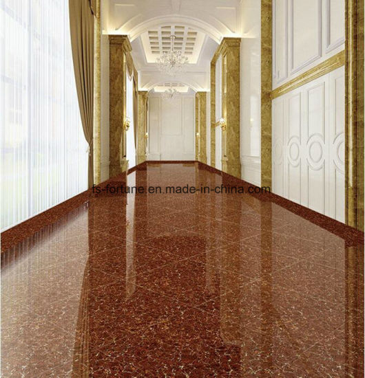 China Red Color Bulatti Double Loading Building Material Polished