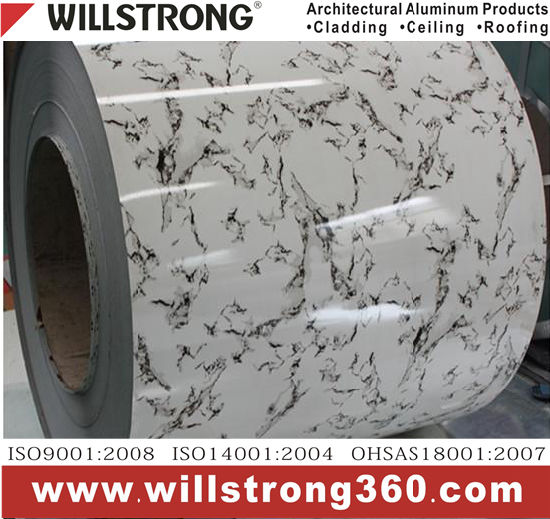0.3mm Stone Pattern Prepainted Aluminum Coil with PE/PVDF Coating pictures & photos