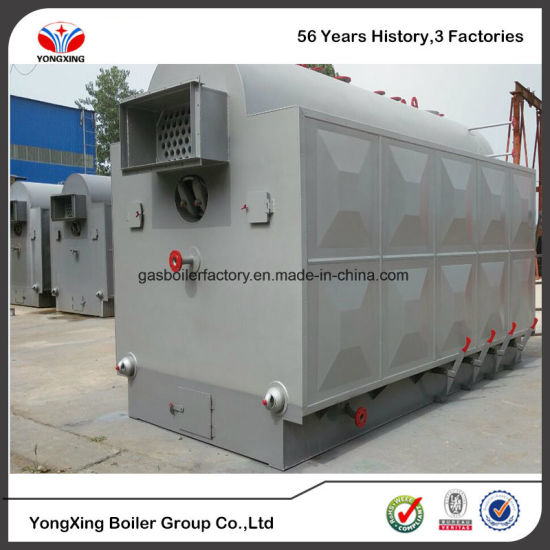 China Biomass Pellet/Wood Furnace Industrial Steam Boiler with Water ...