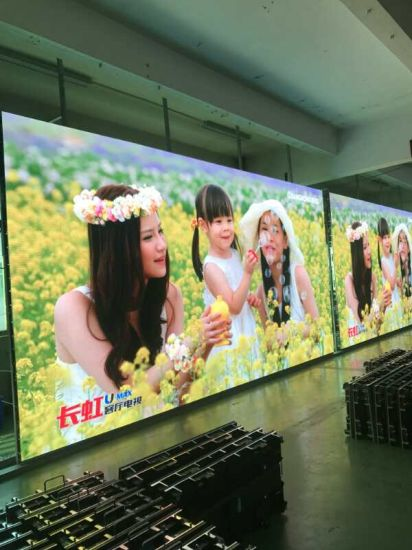 HD P4 DOT Matrix LED Screen for Bus pictures & photos