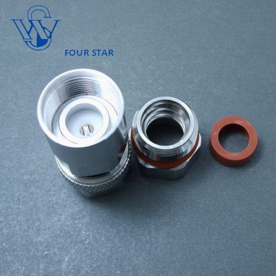 """5 X N Clamp Plug Male connector for Corrugated copper 1//2/"""" cable straight"""