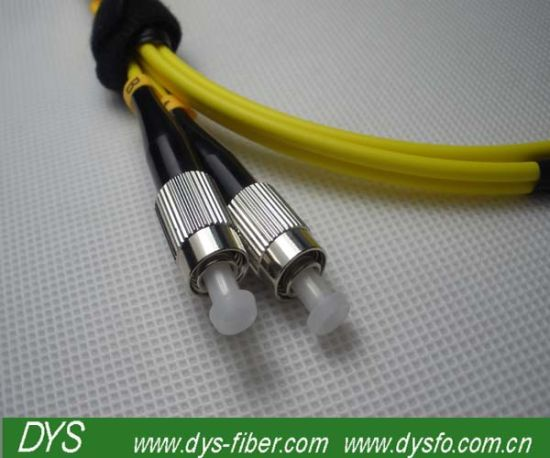 FC Upc Connector Singlemode Duplex Fiber Jump Cable pictures & photos