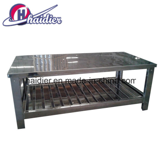 China Stainless Steel Kitchen Equipment Work Table For Hotel And - Restaurant equipment stainless steel table