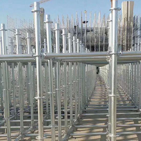 Promotion Q355b Steel Standard Ringlock Scaffolding System for Highway Bridge Project