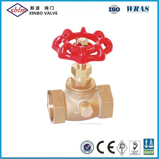 Brass Stop Drain Waste Valve pictures & photos