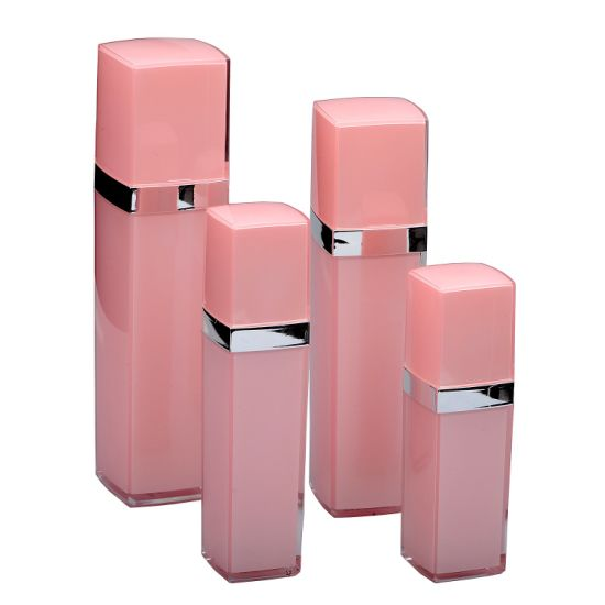 Empty Acrylic Cosmetics Lotion Spray Bottle for Cosmetic Packaging pictures & photos