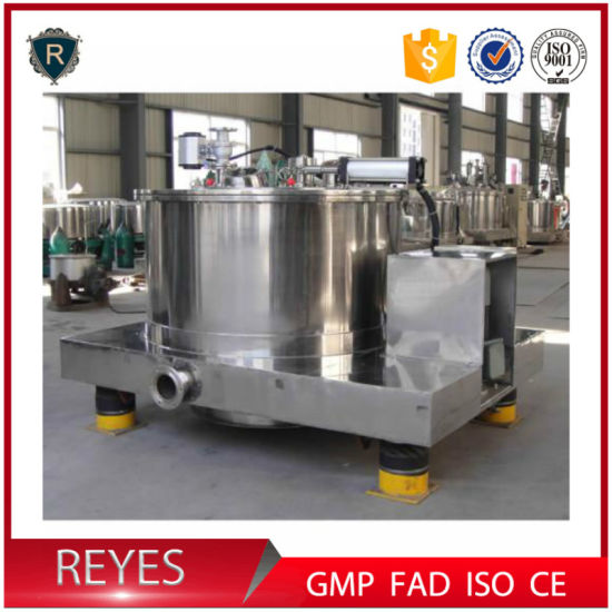 Pgz Series Plate Centrifuge Continuous Centrifuge Industrial Centrifuge Price pictures & photos