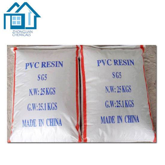 Plastic Raw Materials PVC Resin K57 K67 Sg3 Sg5 Sg8 pictures & photos