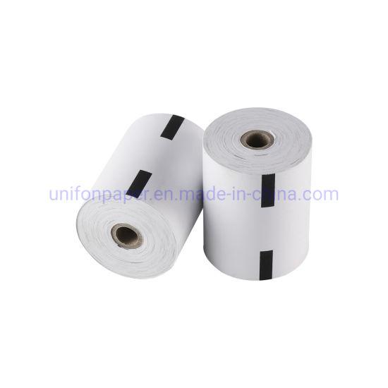 "3 1/8"" Diameter Thermal Receipt Paper Roll for ATM Printer"