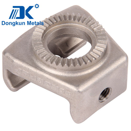 Customized Aluminum Alloy Stainless Steel Metal Casting for Equipment Parts pictures & photos