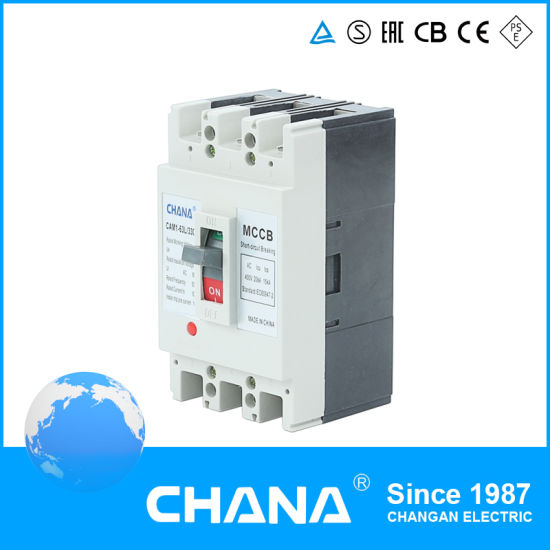 225A 3p/4p Ce and TUV Certificates Moulded Case Circuit Breaker MCCB pictures & photos