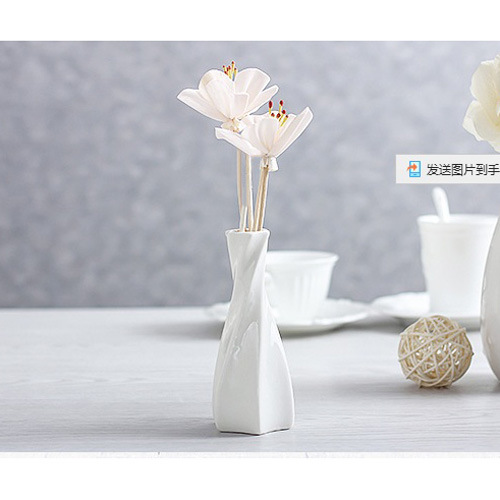 China Home Decoration Of Ceramic Vase With Aroma Reed Diffuser Gift
