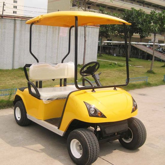Battery Power 4 Seater Electric Club Car Golf Car (DG-C4) pictures & photos
