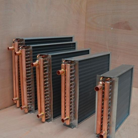 China Alternative Heating System Copper Tube Water to Air Heat ...