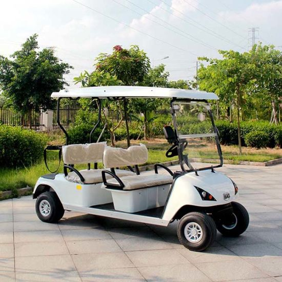 China 4 Seater Factory Prices Electric Golf Car With Roof Dg C4