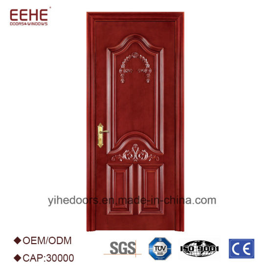 China Solid Wood Interior Door Wood Room Door/Gate Fancy Wood Door ...