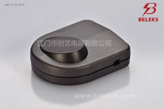 China 250V Ks2 Series Electric Foot Tap Lamp Cord Switch for