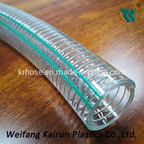 Color PVC Stainless Steel Fexible Hoses for Drinking Water