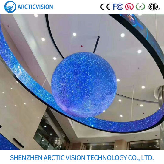LED Round Screen Indoor P2/P2.5/P3/P4/P5 Full Color Shaped Display Round Cake Display