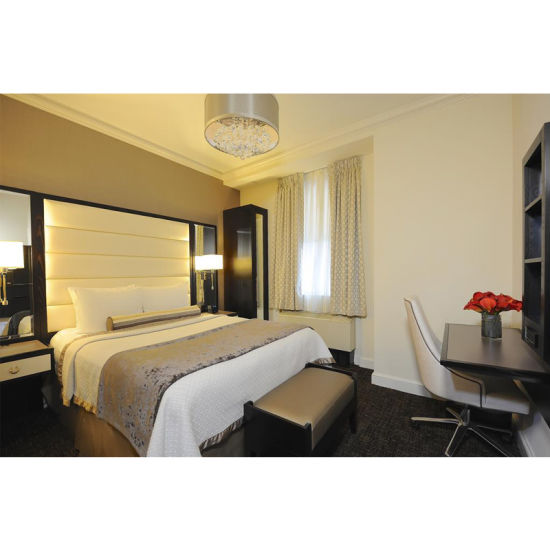 Luxury Royal Italian Style Hotel Bedroom Set Furniture for Sale (ST0013)