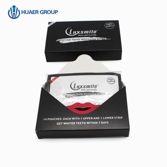 Charcoal Teeth Whitening Strips Tooth Strips Care Oral Hygiene