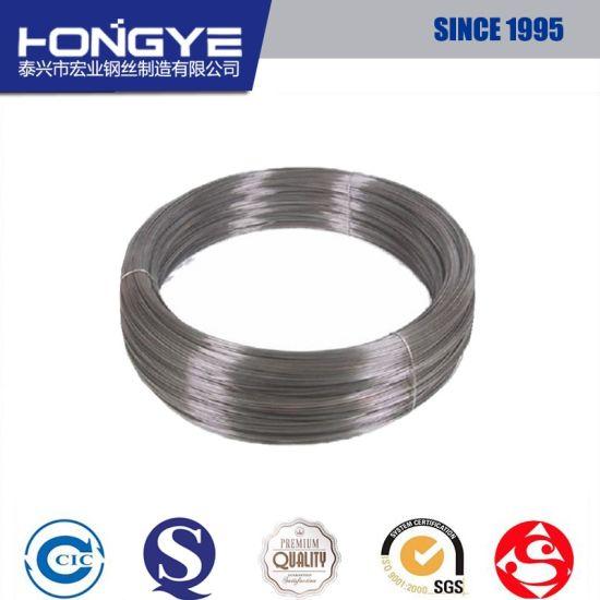 China Medium High Carbon Black Round Custom Torsion Spring Steel ...