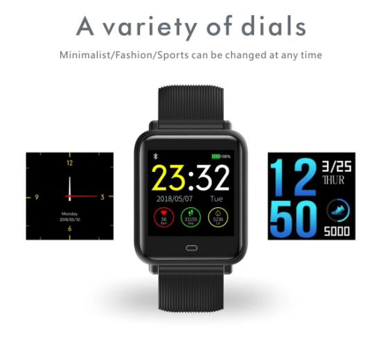 China Q9 a Bluetooth Intelligent Color Smart Sport Fitness