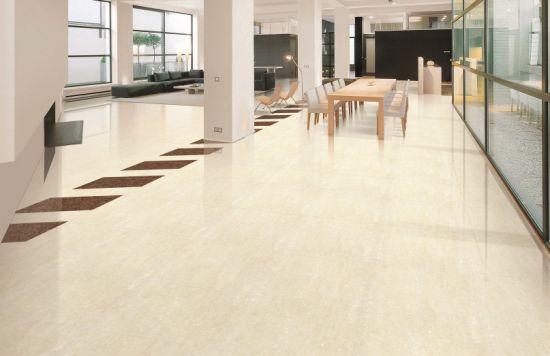 600*600 Building Material Soluble Salt Porcelain Floor Tile For Livingroom