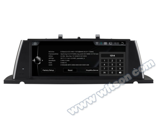 "Witson BMW 10.25 "" Android 8.1 Big Screen Car DVD for BMW 5 Series F07 Gt (2011-2012) Cic pictures & photos"