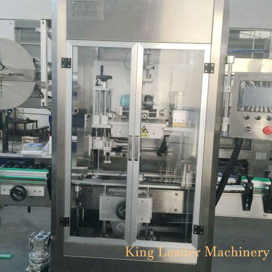 Fully Automatic Beverage Bottle PVC Film Sleeve Labeling Machine