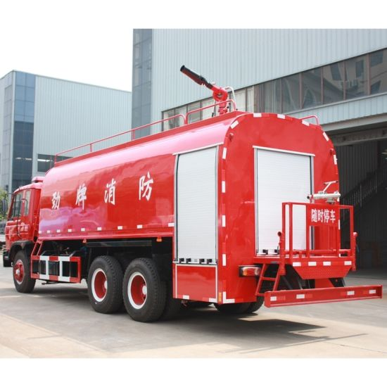 DFAC 10 Wheels 15000 Litres or 15ton Heavy Water Tank Fire Truck with Water Sprinker pictures & photos