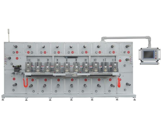 High Precision Automatic Adhesive Tape/PVC Film Rotary Die Cutting Machine with China Manufacturer