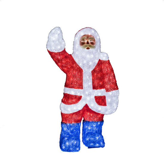 Father Christmas Santa Claus Kriss Kringle Shape Modeling LED Light for Decoration pictures & photos