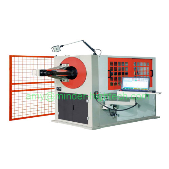 3D CNC Automatic Metal Material Wire Forming Bending Machine Equipment