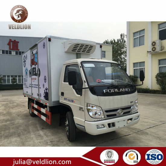 fbdc51a3b6 Forland Reefer Truck 3 Ton Mini Freezer Box Truck for Sale pictures   photos