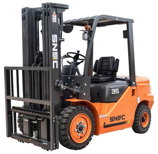 Japan Isuzu Engine 3.5 Ton Diesel Forklift