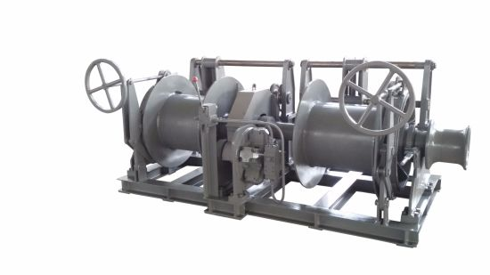 18t Hydraulic Double Drum Trawl Winch with ABS/BV/CCS Certificate