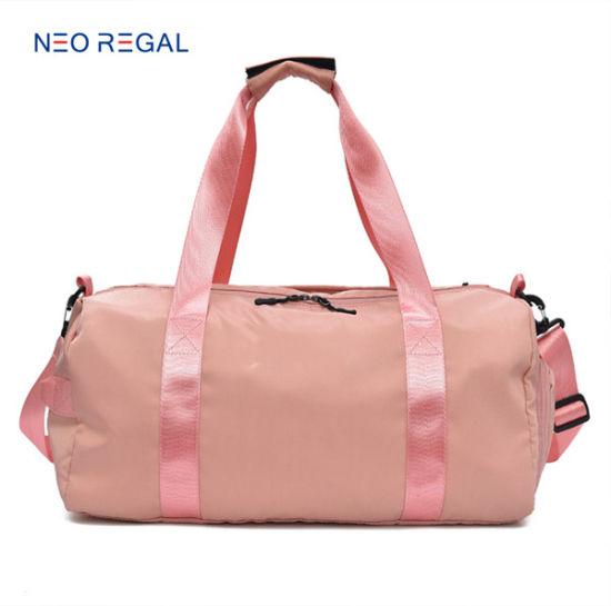 Wholesale Big Capacity Nylon Material Yoga Wet Dryl Gym Sports Duffel Bag