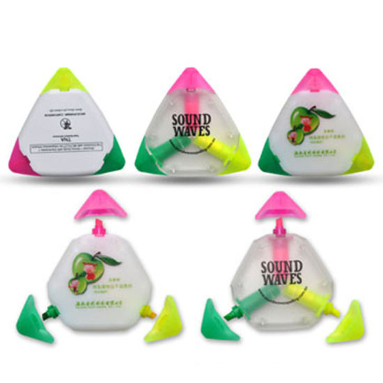 Triangle Shape Waterproof Highlighter Pen, Fluorescent Marker Pen Set, Promotional Gift Highlighter Pen pictures & photos