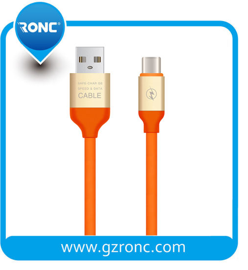 2A Speed Charging Soft Rubber Elastic Micro USB Cable Data Sync for Phone Cables pictures & photos