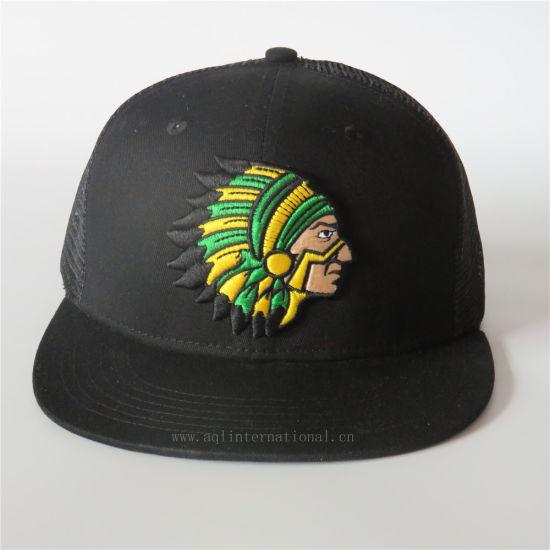 fb609bf4a90 Custom Black Trucker Hat Mens Snapback Trucker Mesh Cap 3D Embroidery Snap  Back Hat Mesh Hat