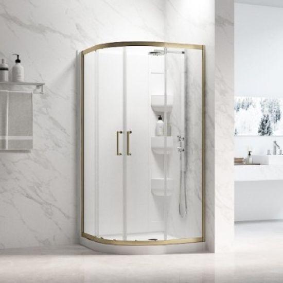 En Suite Bathroom Accessories Set Frameless Shower Door Shower Room Glass Door Shower Trays and Enclosures